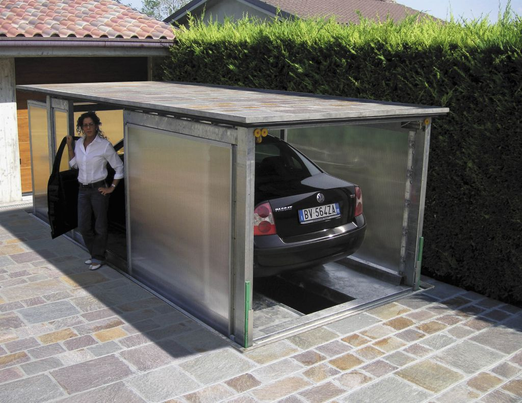 Monte charges raf for Garage souterrain ascenseur
