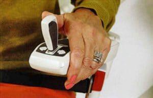 Commande joystick pour monte-escalier tournant