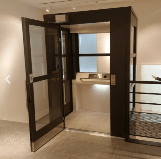 Élévateur Ascenseur Privatif Intérieur Électrique