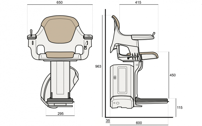 HomeGlide Standard Dimensions