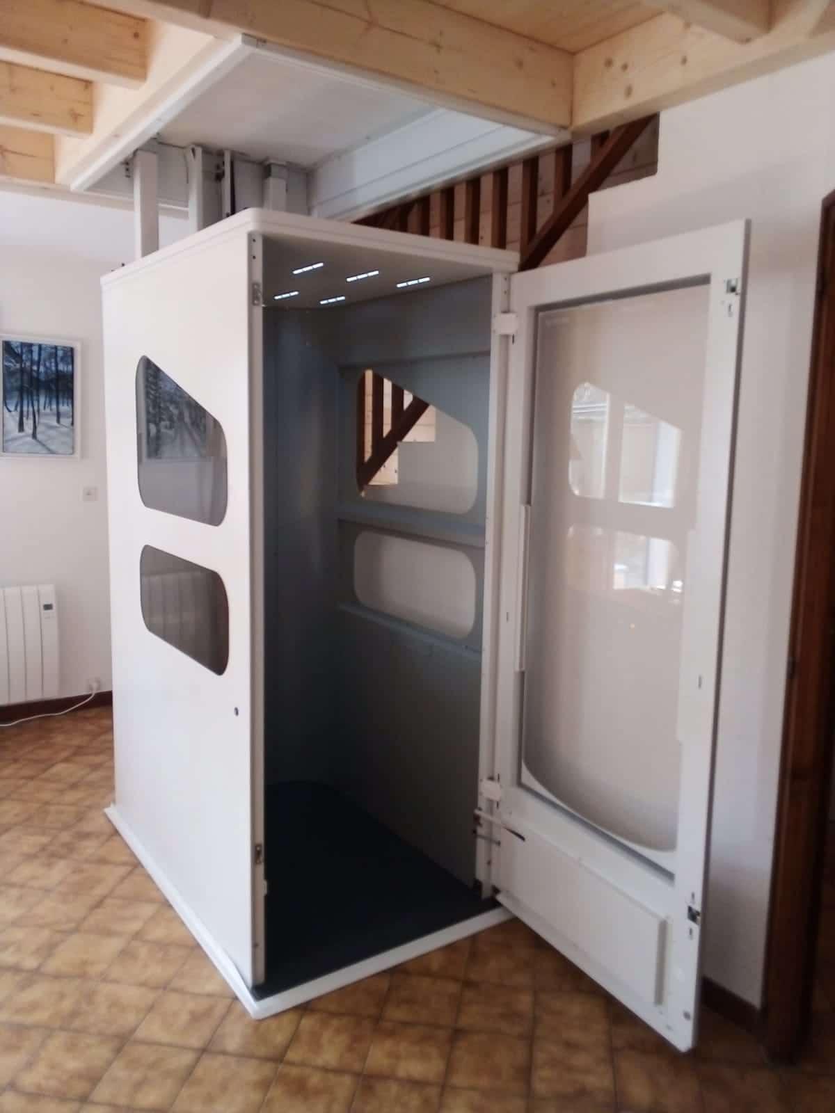 Wessex Cabine VE – Intérieur hydraulique sans structure