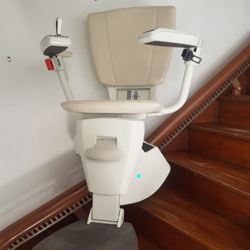 siège monte escalier courbe sur mesure Flow 2 A 2020