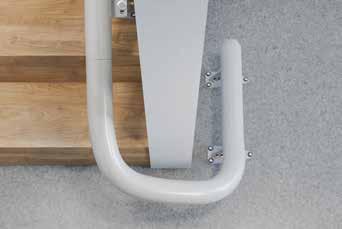 Rail de monte escalier tournant sur-mesure