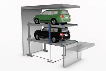 Multiplicateur de parking avec fosse RAF PARK AF